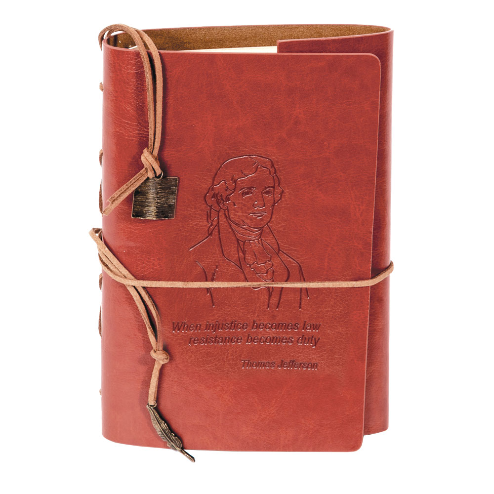 Thomas Jefferson Leather Journal