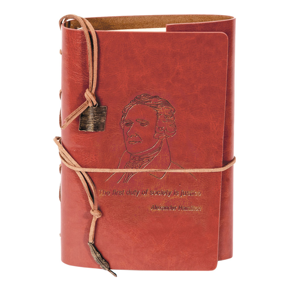 Alexander Hamilton Leather Journal
