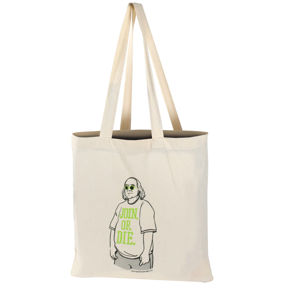 Franklin Tote Bag