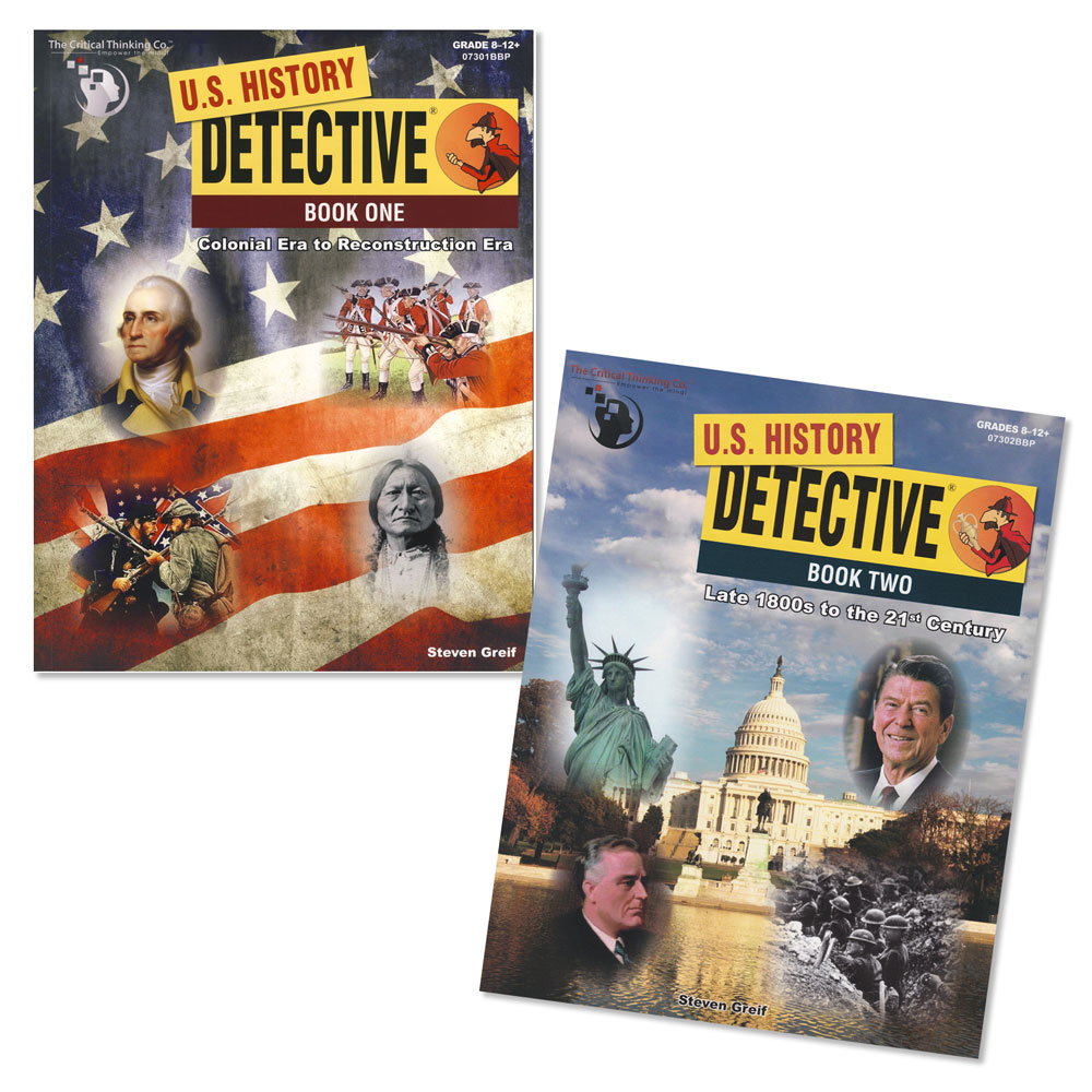 U.S. History Detective Books Set of 2