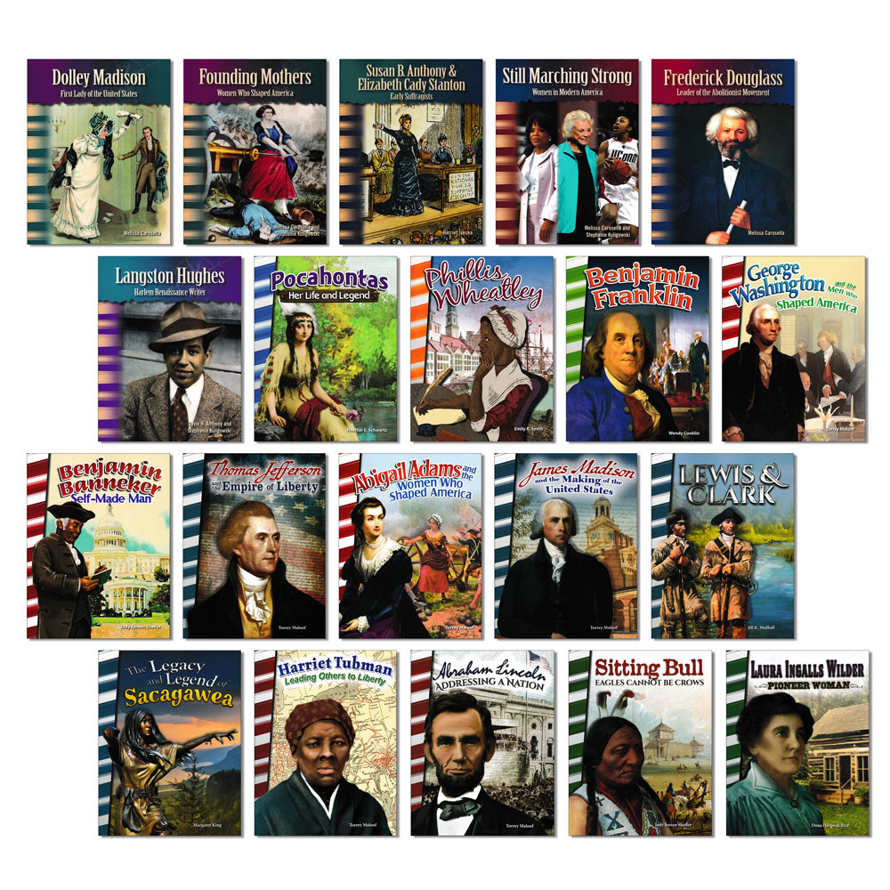 American History Biography Readers - Set of 20