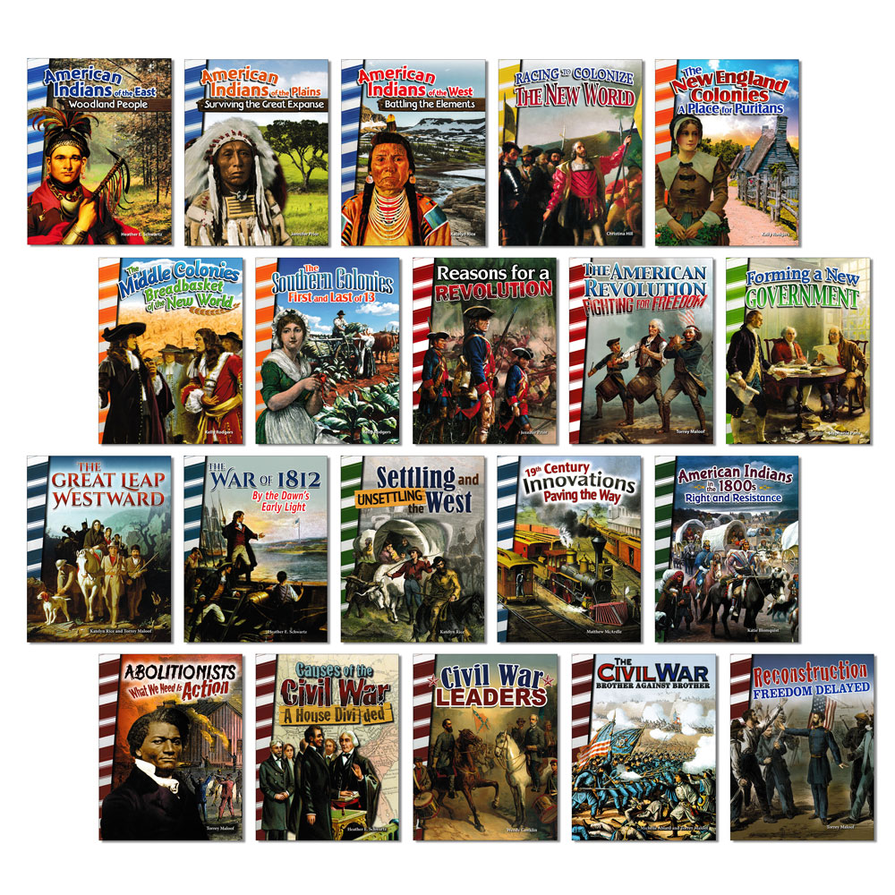 American History Readers - Set of 20