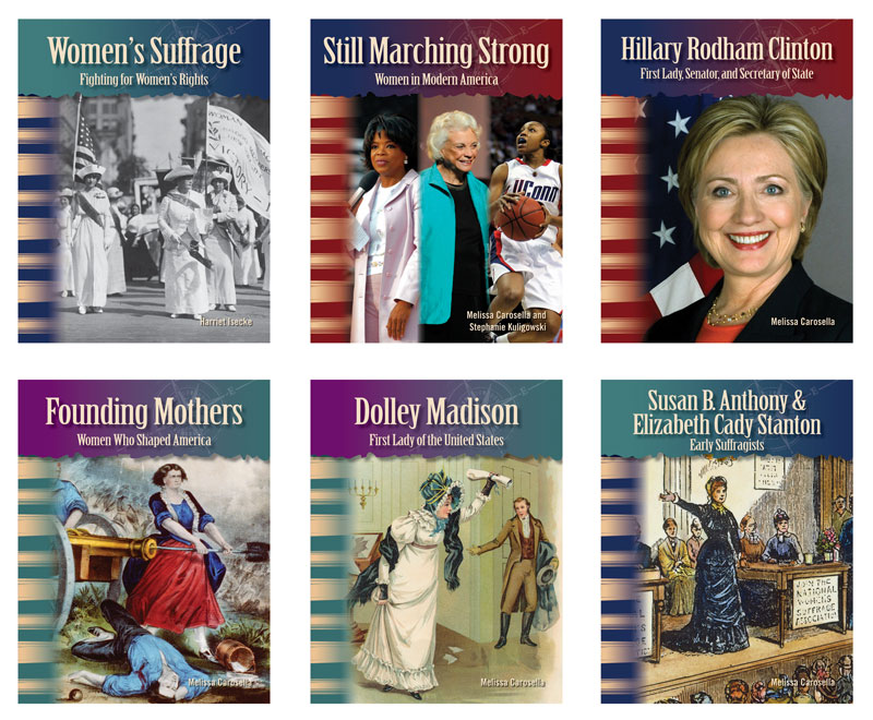 Women in U.S. History Primary Source Readers - Set of 6