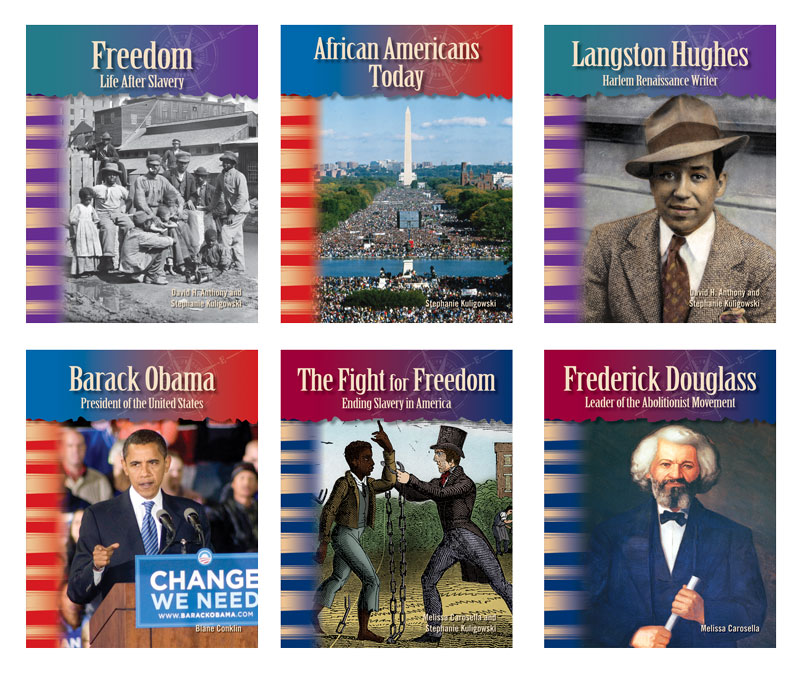 African Americans Primary Source Readers - Set of 6