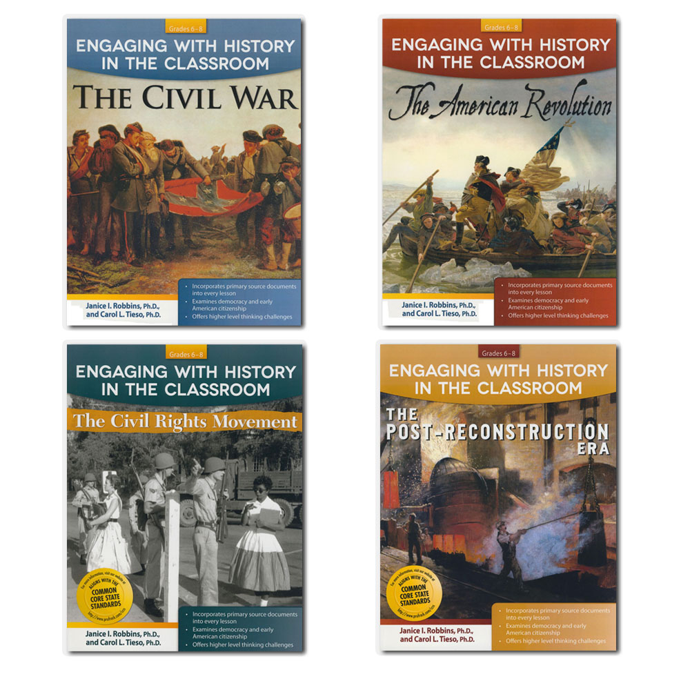 Engaging with History in the Classroom Set of 4 Books