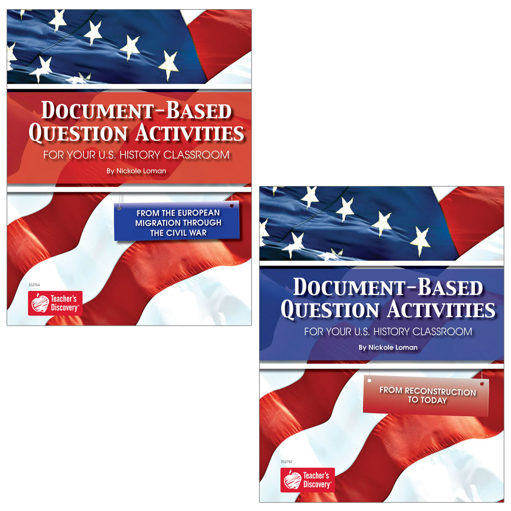 Document-Based Question Activities for U.S. History Set of 2 - Document-Based Question Activities for U.S. History Set of 2 Print Books