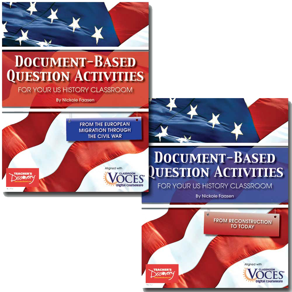 Document-Based Question Activities for U.S. History Set of 2