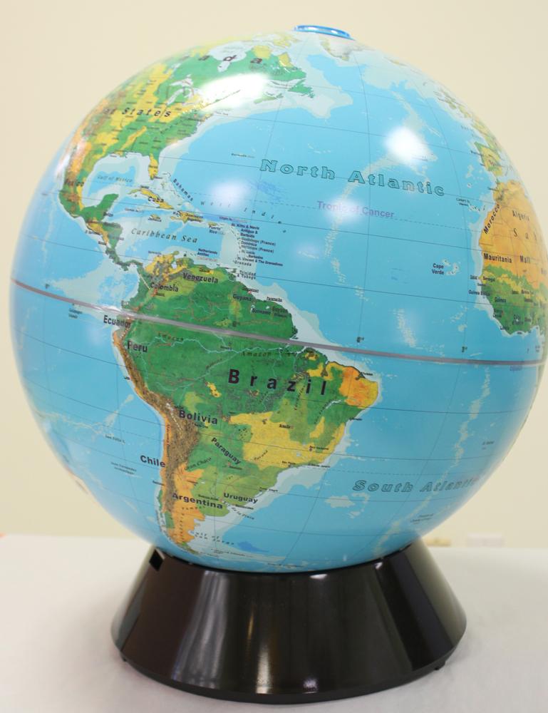 Advanced 16-inch World Globe