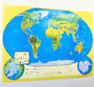 Mapsatlas teachers discovery advanced world map gumiabroncs Gallery