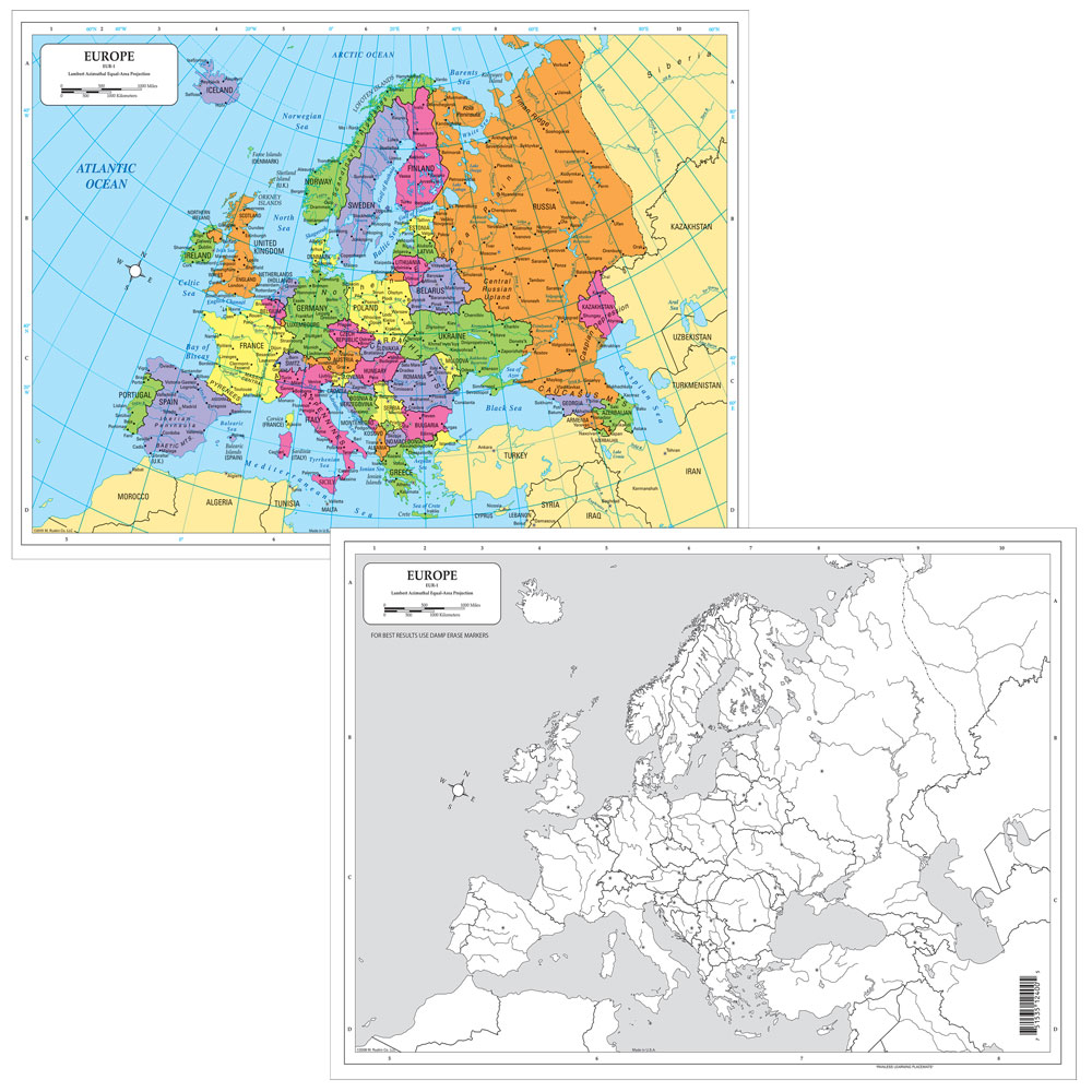 Dry-Erase Europe Desk Map on travel map, rainbow map, magnetic map, butterfly map, disney map, peel stick wall map, stars map, halloween map, dry line map, metal map,