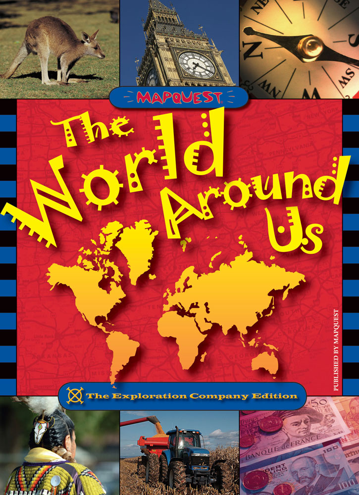 The World Around Us Introductory Atlas