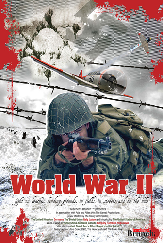 World War II Movie Poster