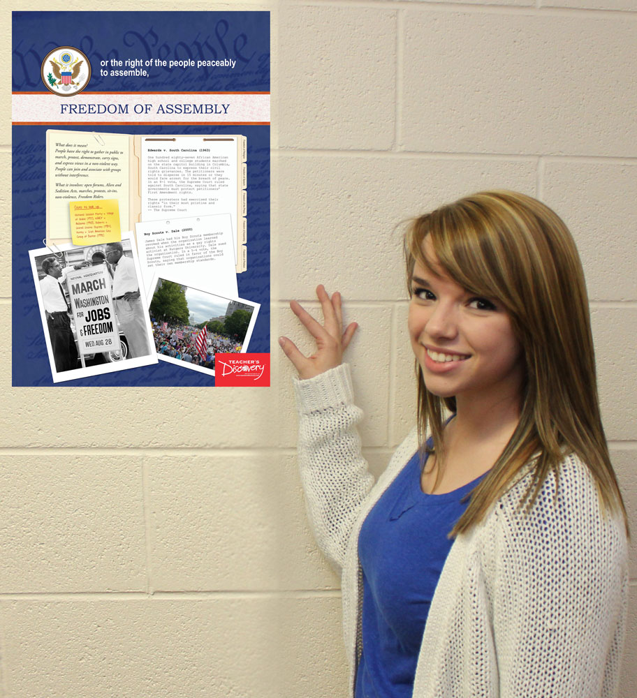 First Amendment Posters - Set of 5