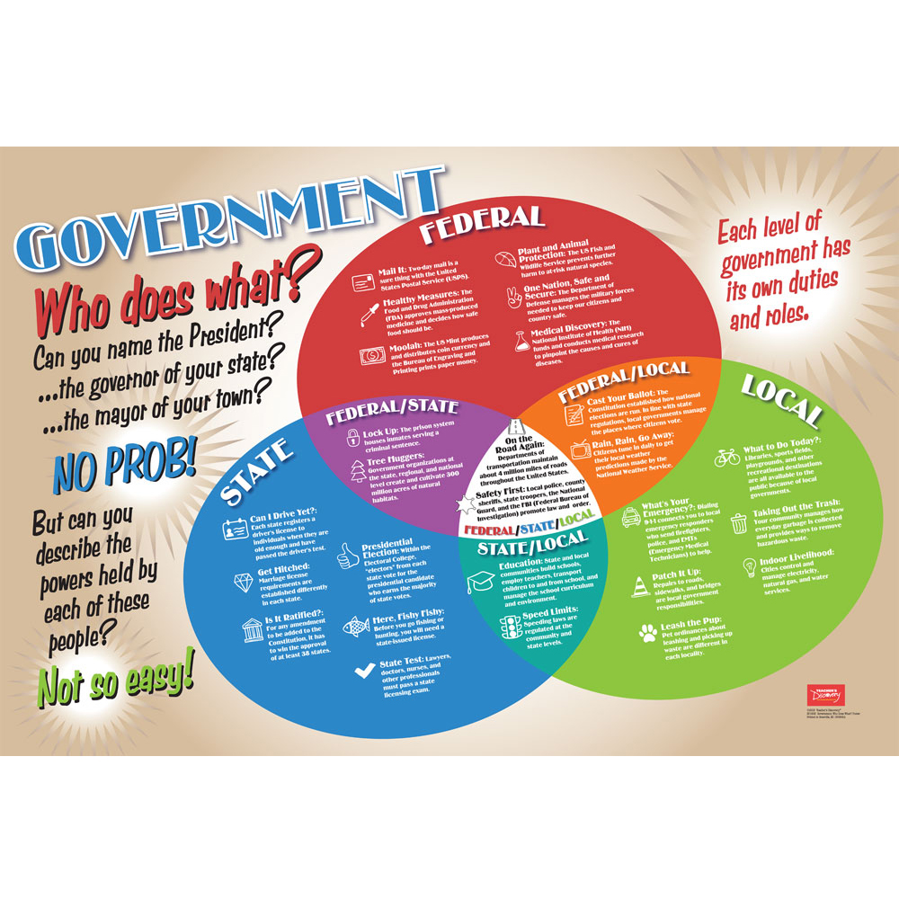 Government: Who Does What? Poster