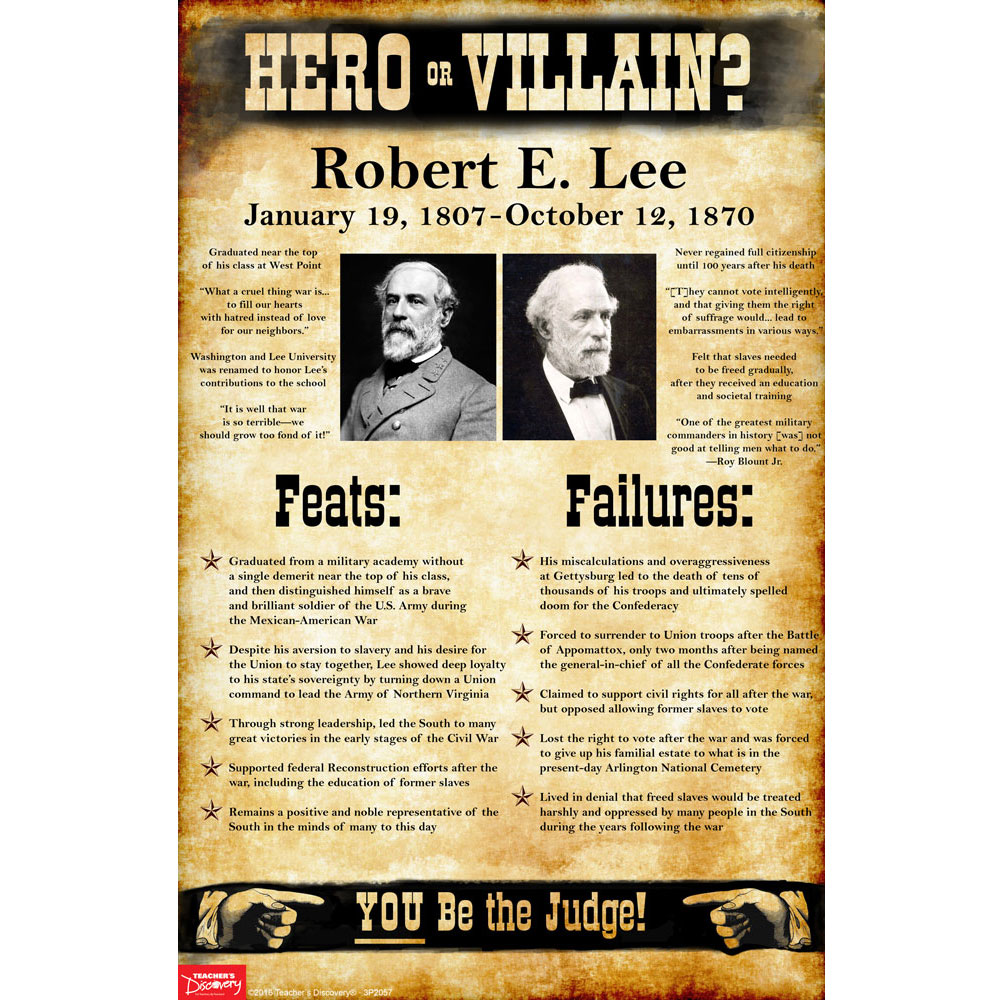 Robert E. Lee: Hero or Villain? Mini-Poster