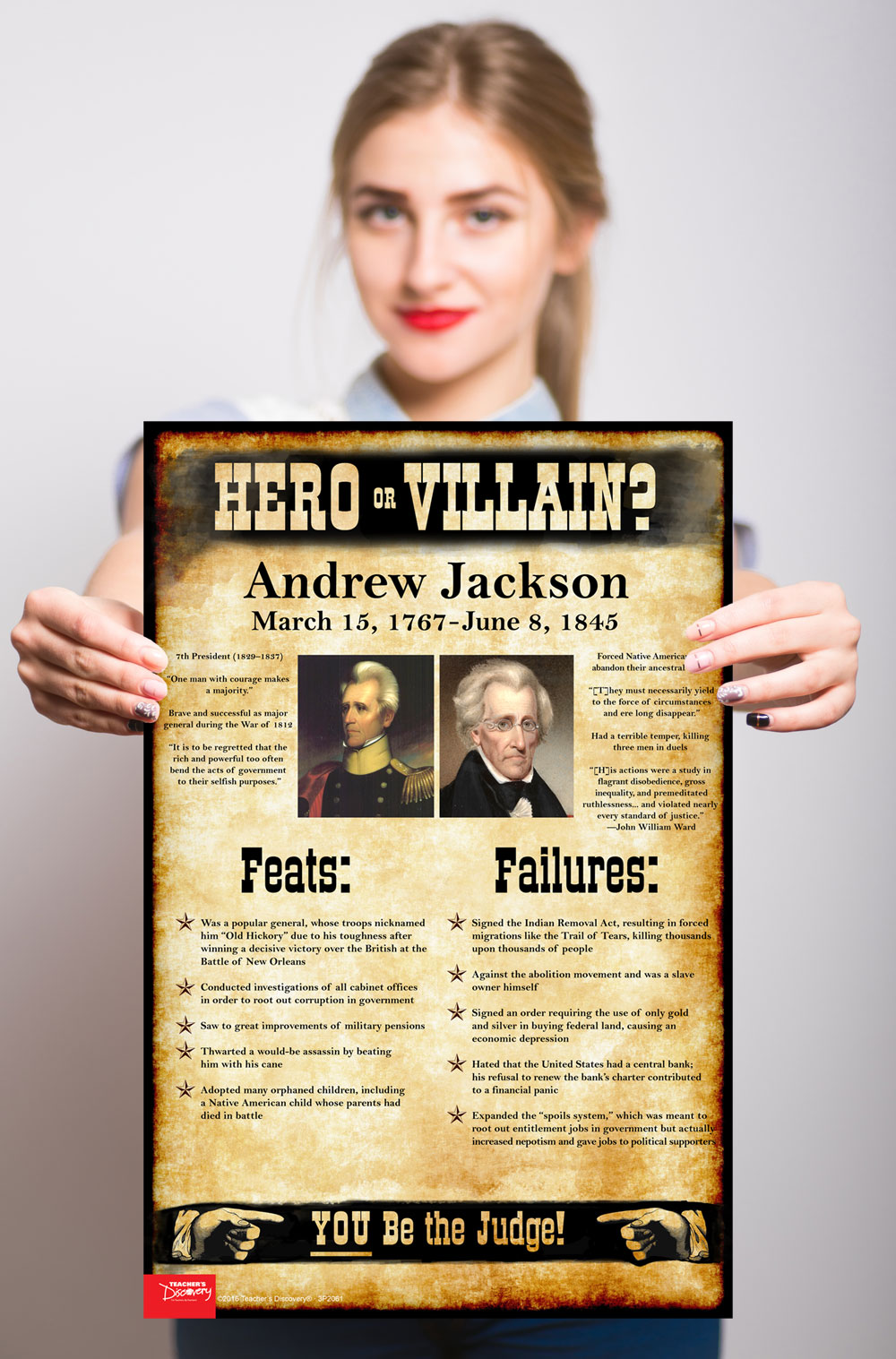andrew jackson hero or villain essay Andrew jackson a hero or a villain during jackson's presidency many would say that he was a hero while others would speak of him as a villain it all depends on.