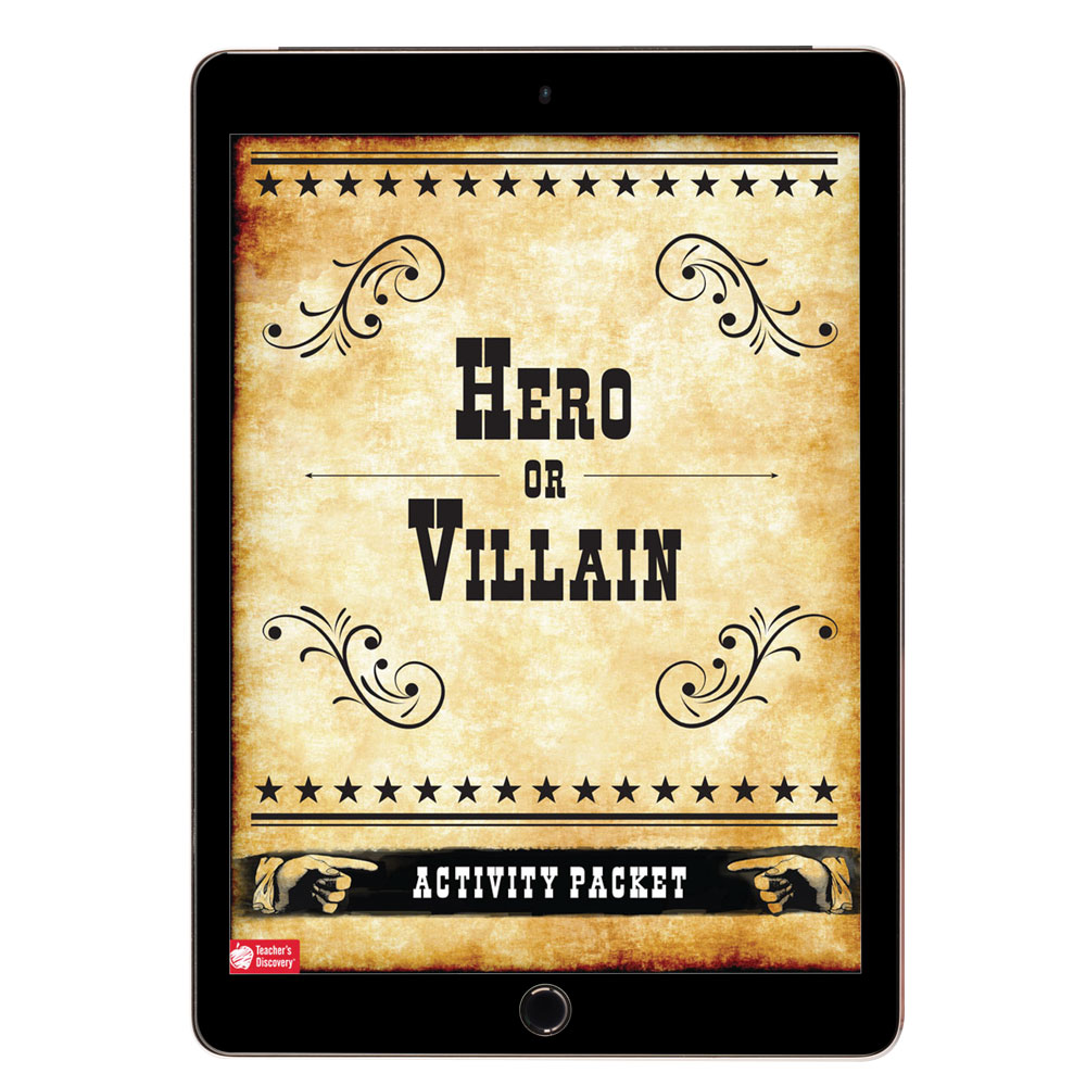 Hero or Villain? Activity Packet Download