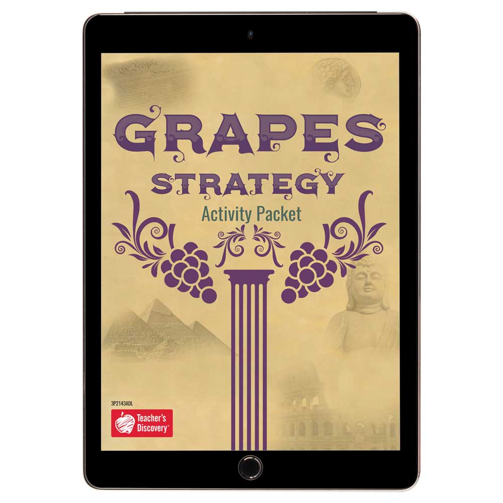 GRAPES Strategy Activity Packet Download