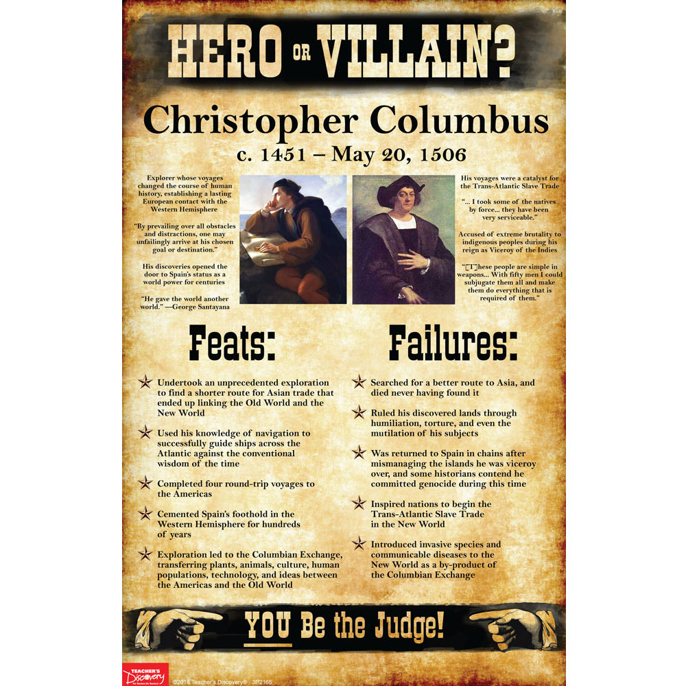 Christopher Columbus: Hero or Villain? Mini-Poster