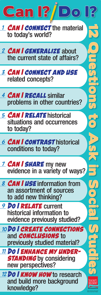 Can I? Do I? 12 Questions Skinny Poster