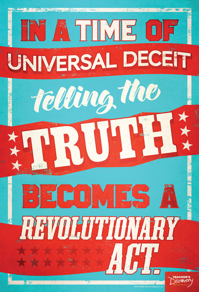 Revolutionary Truth Mini-Poster