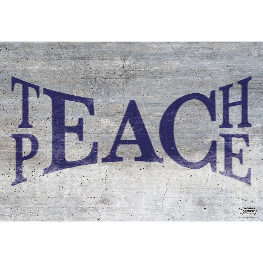 Teach Peace Mini-Poster