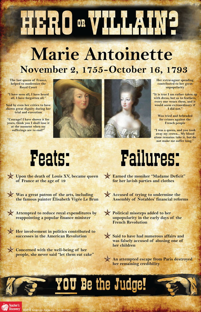 Marie Antoinette: Hero or Villain? Mini-Poster