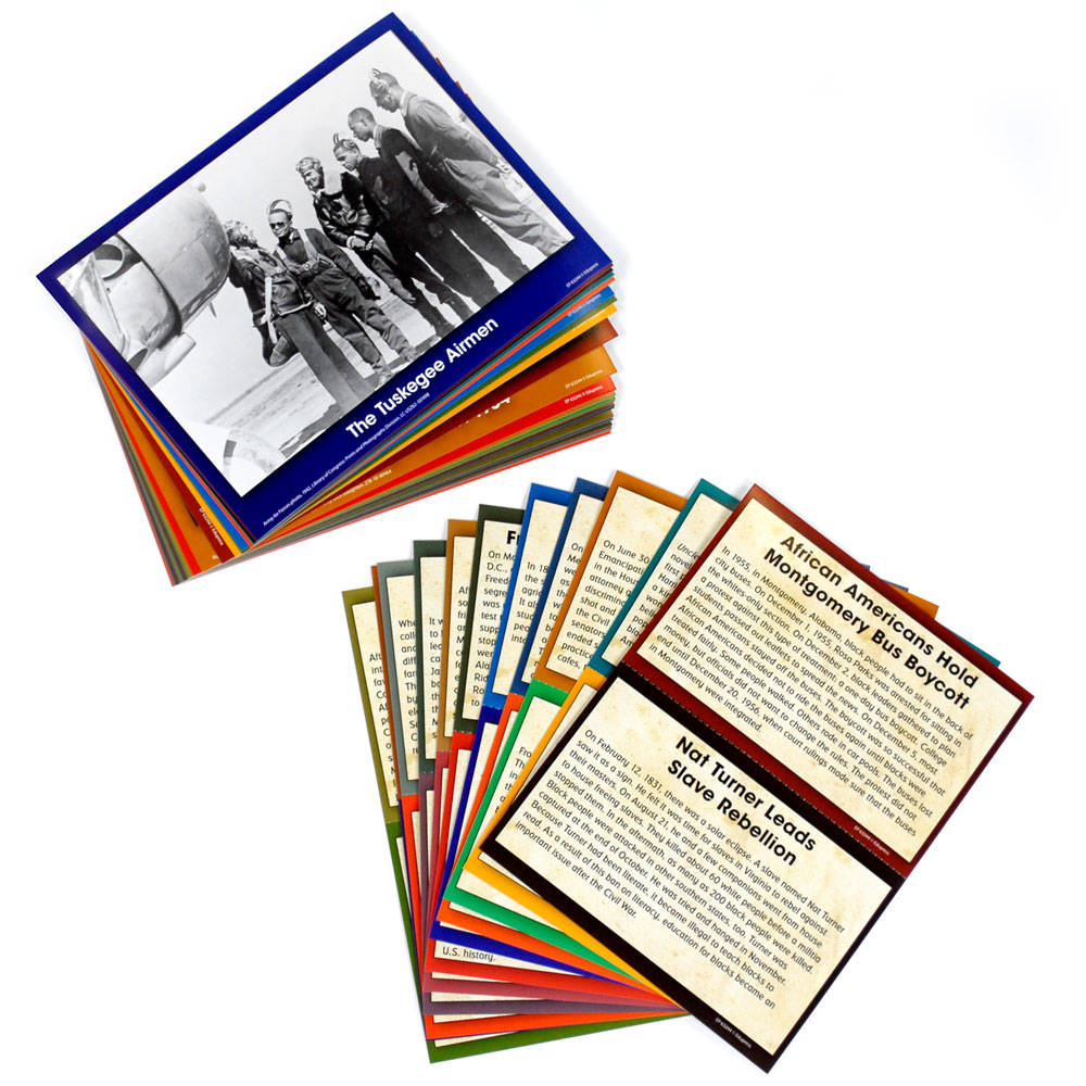 Black History Events Card Set
