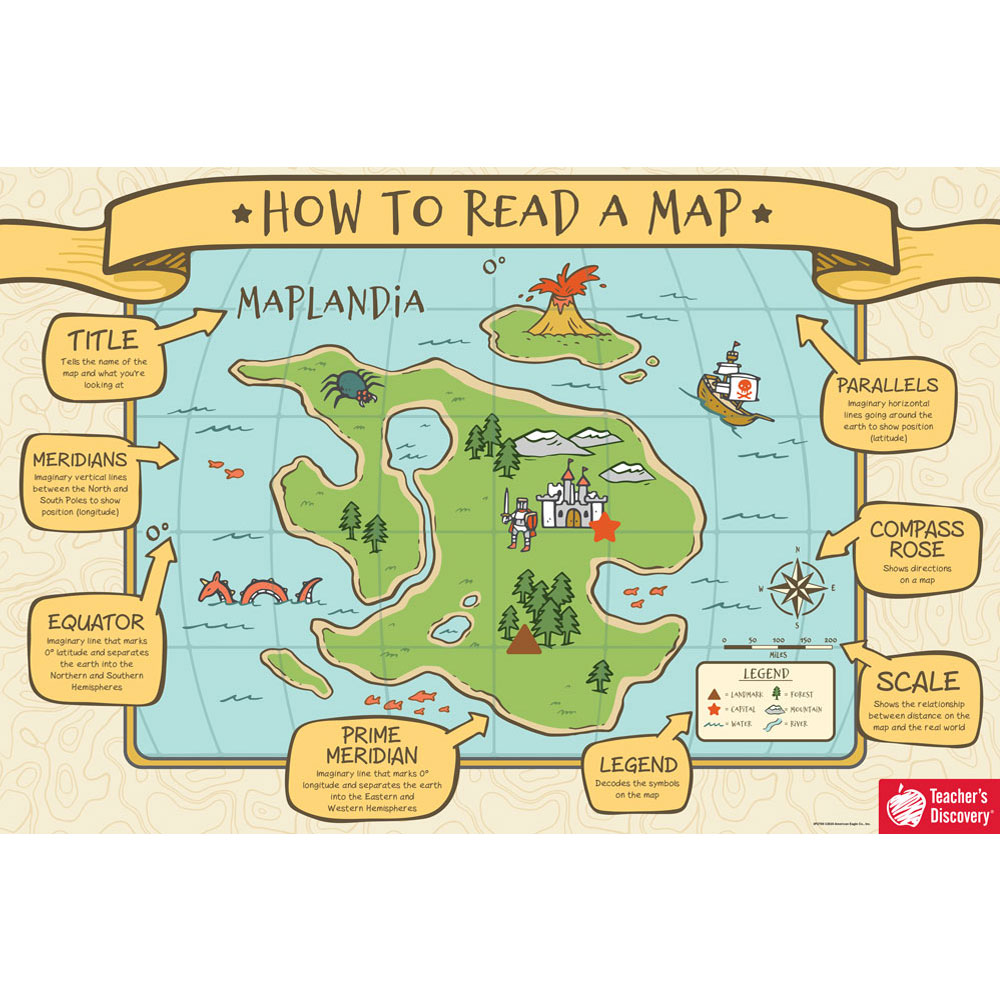 How to Read a Map Chart