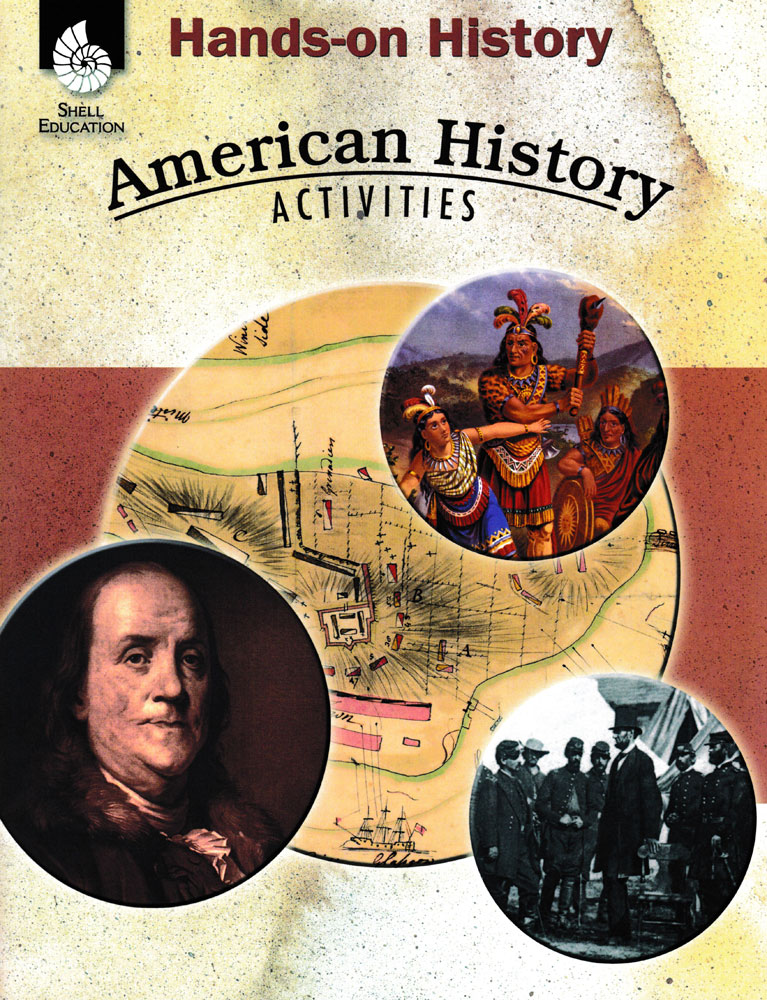 Hands-On History: American History Activities Book - Hands-On History: American History Activities Print Book