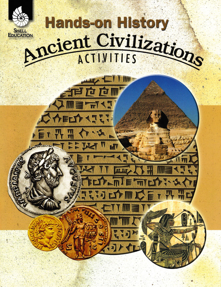 Hands-On History: Ancient Civilizations Activities Book - Hands-On History: Ancient Civilizations Activities Print Book