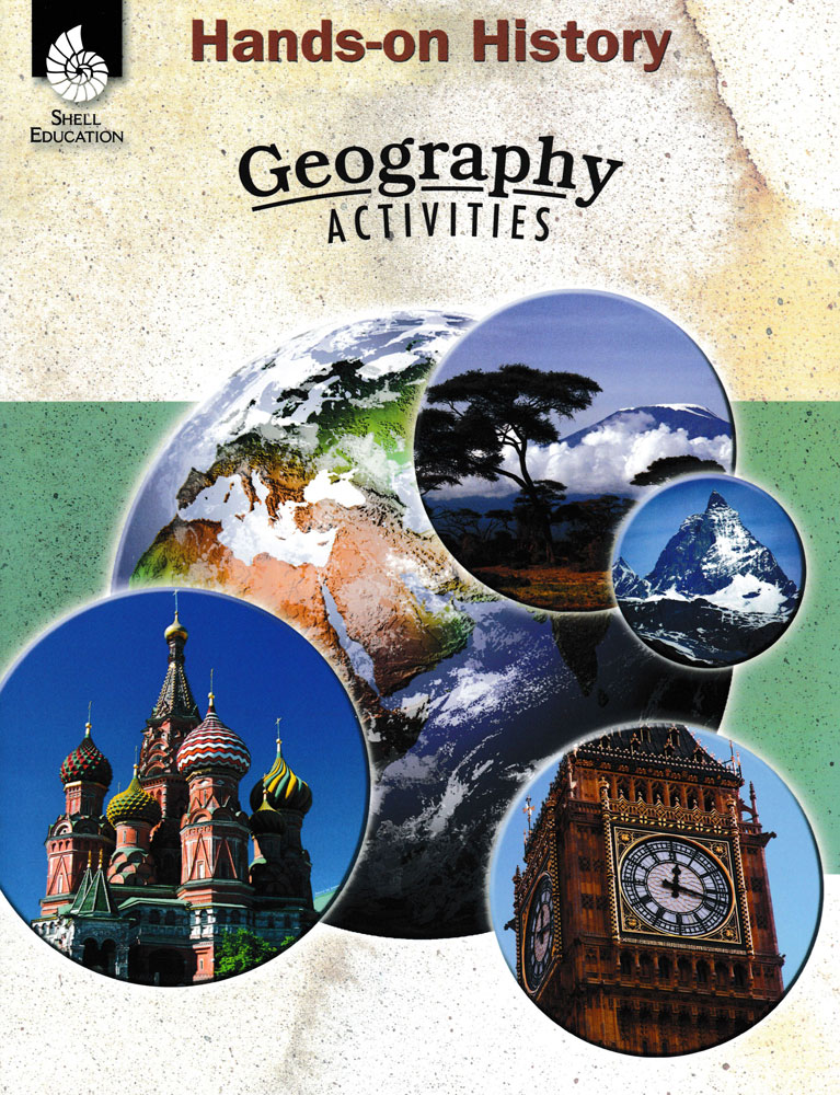 Geography Hands-On History Book