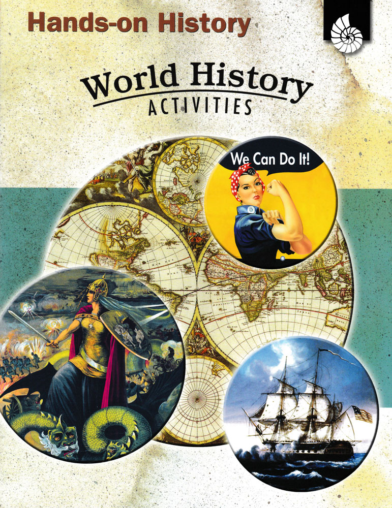 Hands-On History: World History Activities Book - Hands-On History: World History Activities Print Book