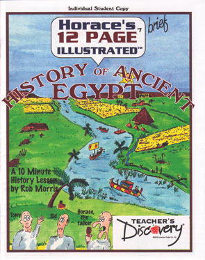 Horace's History of Egypt Comic Set of 30