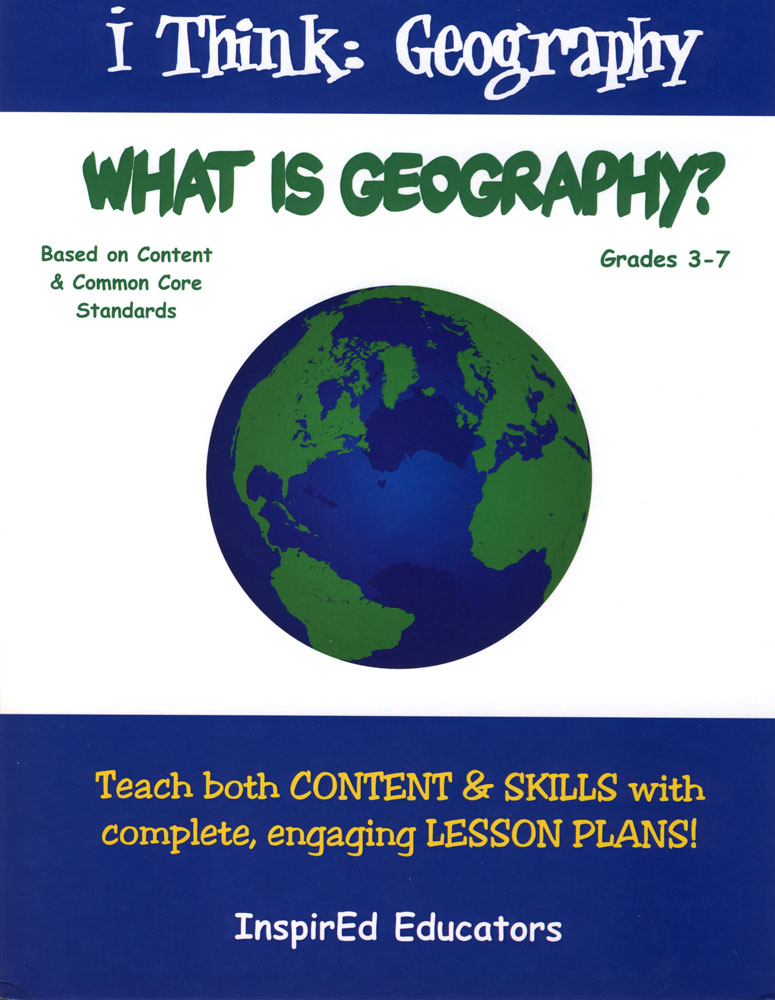 i Think: Geography, What is Geography? Activity Book, Social