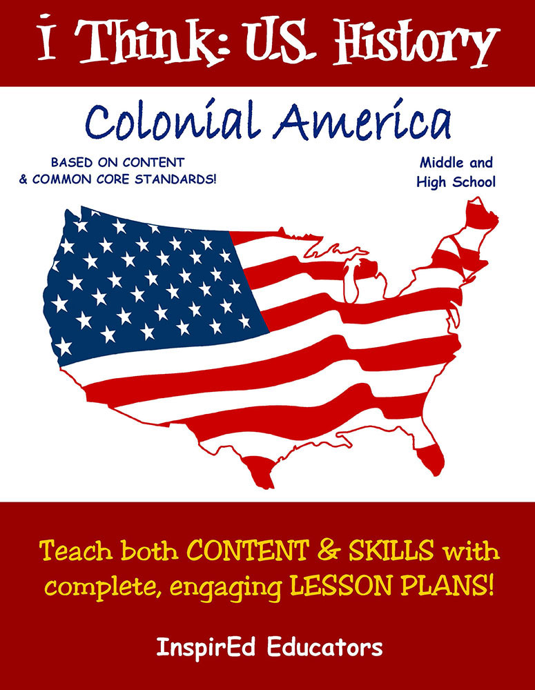 i Think: U.S. History, Colonial America Activity Book