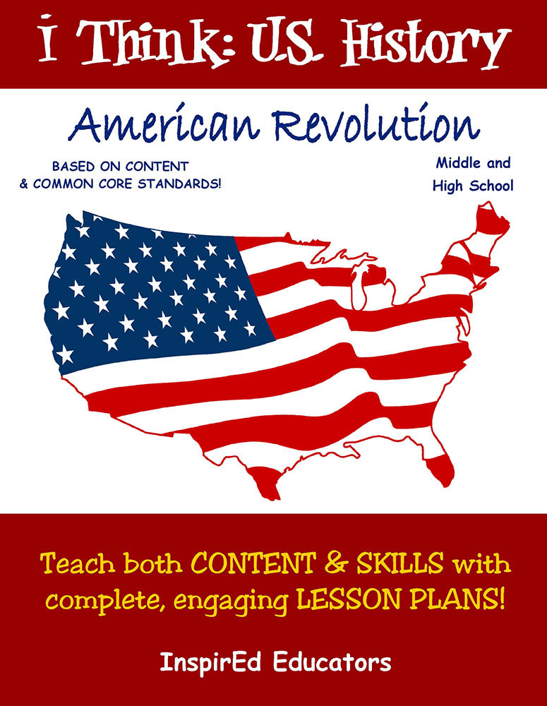 i Think: U.S. History, American Revolution Activity Book