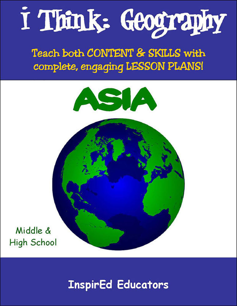i Think: Geography, Asia Activity Book, Social Studies