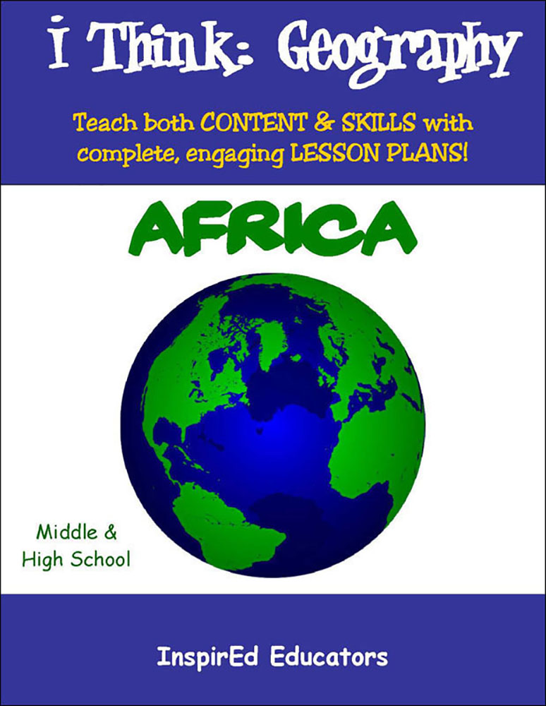 i Think: Geography, Africa Activity Book