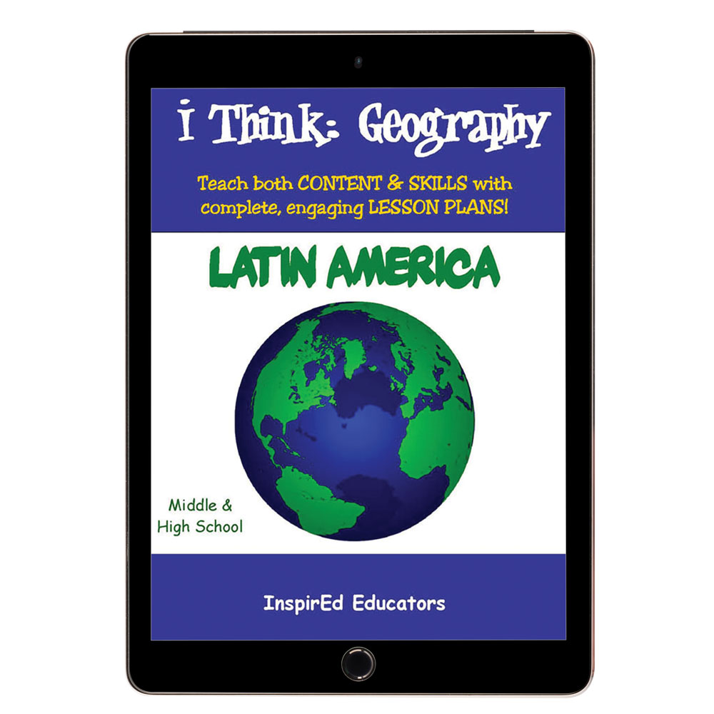 i Think: Geography, Latin America Activity Book