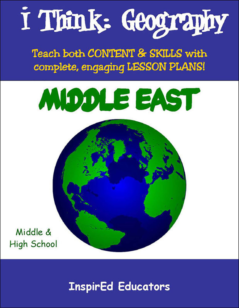 i Think: Geography, Middle East Activity Book
