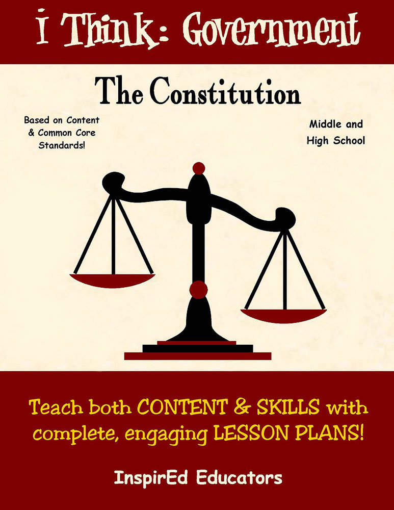 i Think: Government, The Constitution Activity Book