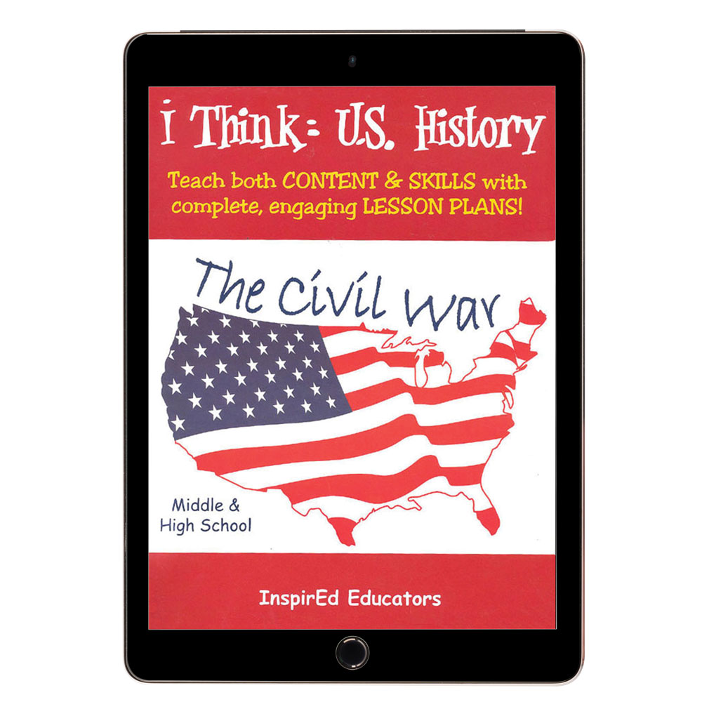 i Think: U.S. History, The Civil War Activity Book