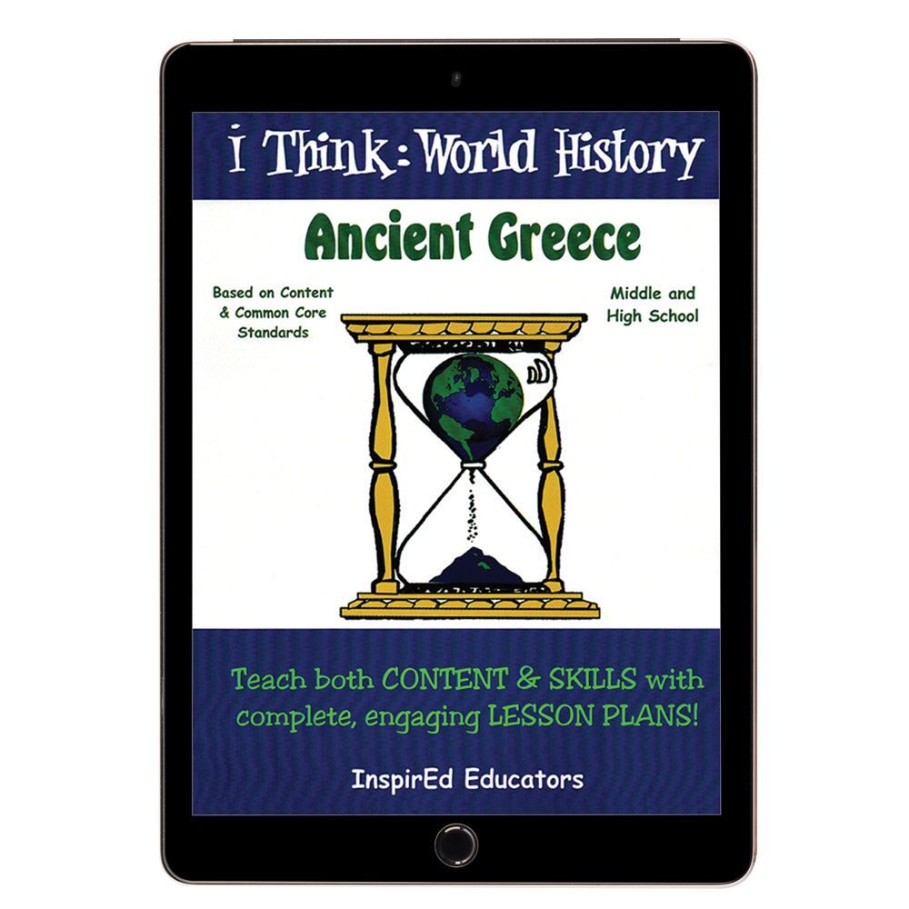 i Think: World History, Ancient Greece Activity Book