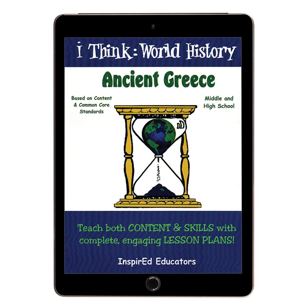 i Think: World History, Ancient Greece Activity Book