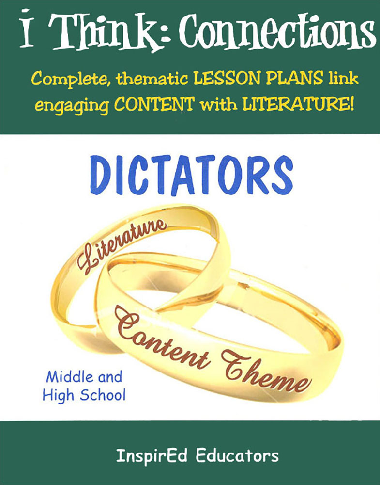 i Think: Connections, Dictators Activity Book