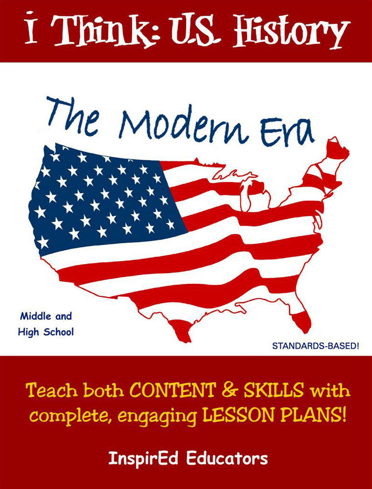 i Think: U.S. History, The Modern Era Activity Book