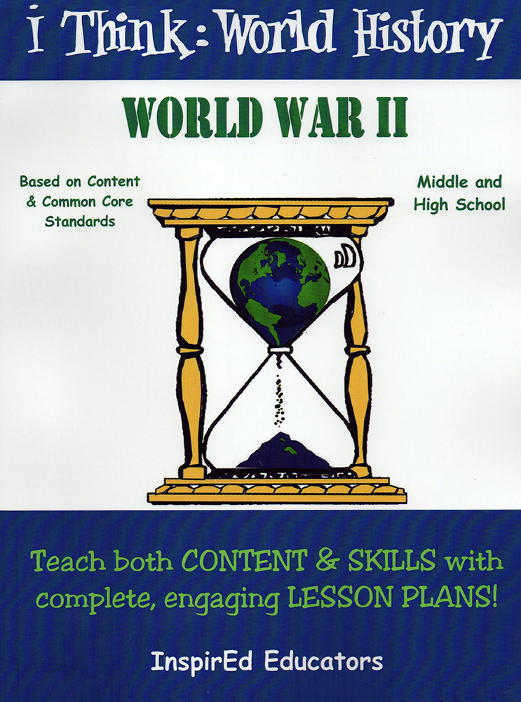 i Think: World History, World War II Activity Book