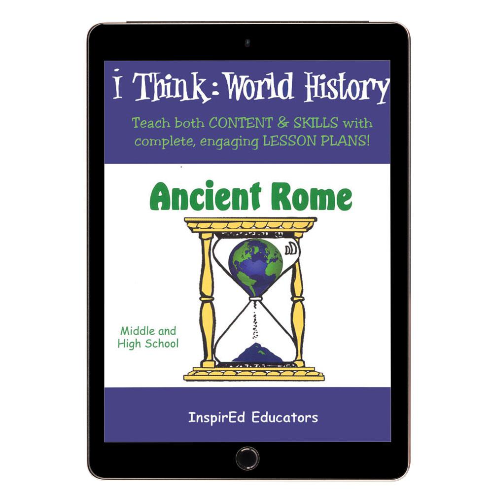 i Think: World History, Ancient Rome Activity Book