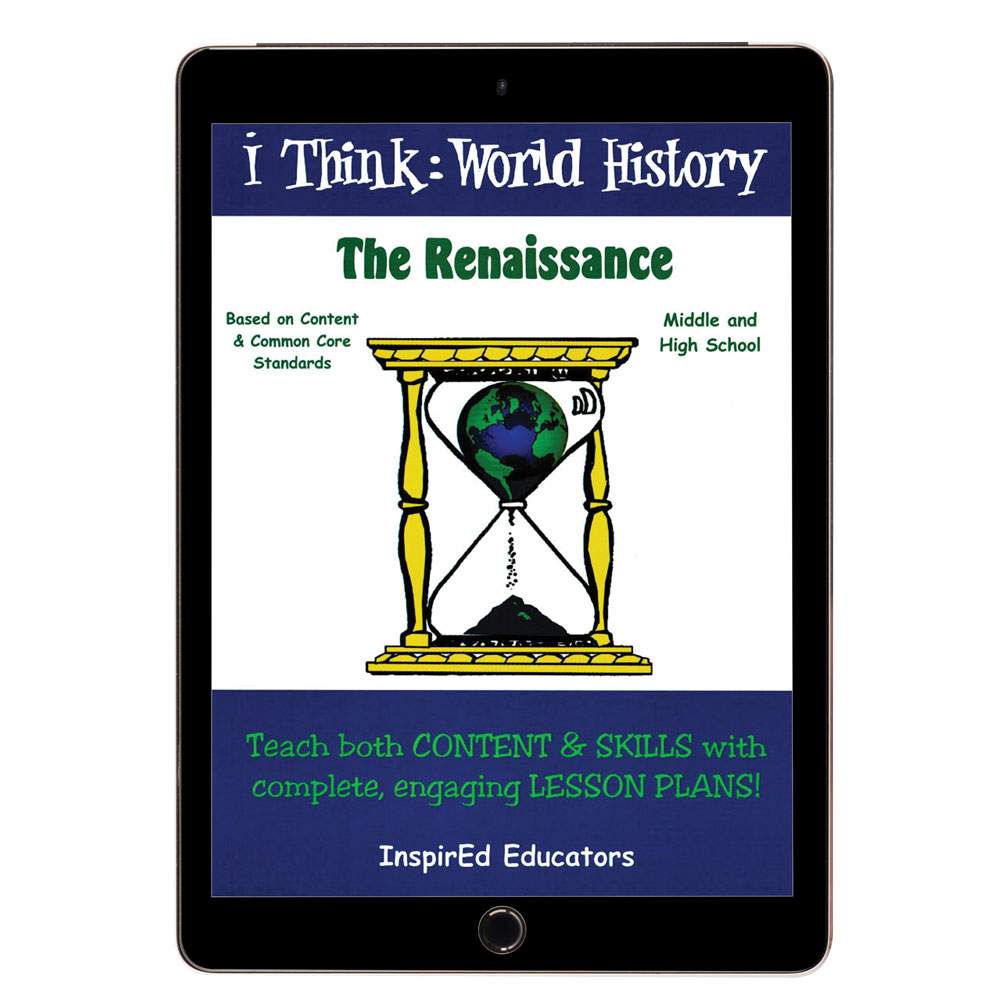 i Think: World History, Renaissance Activity Book